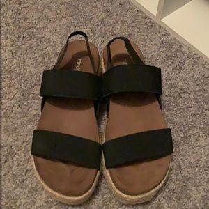 Madden girl espadrille sandals 6.5